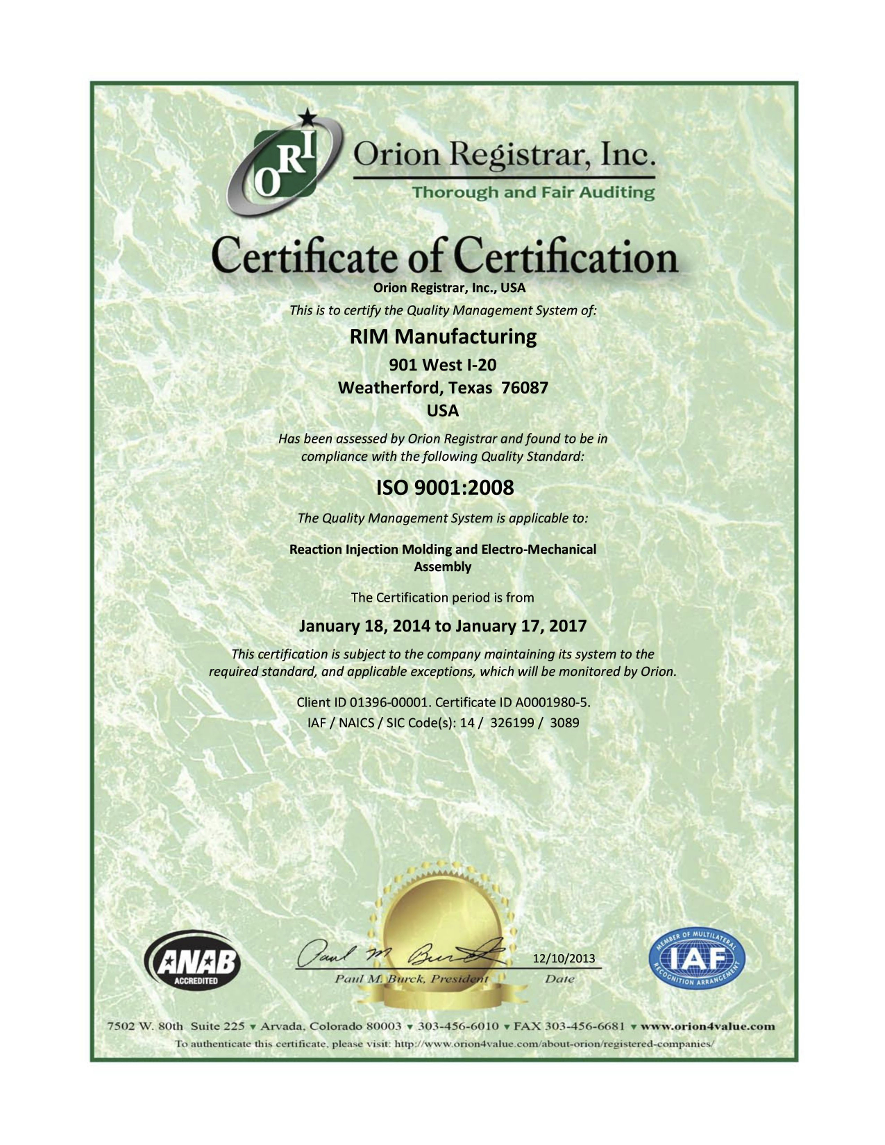 IS0-2008-Certificate