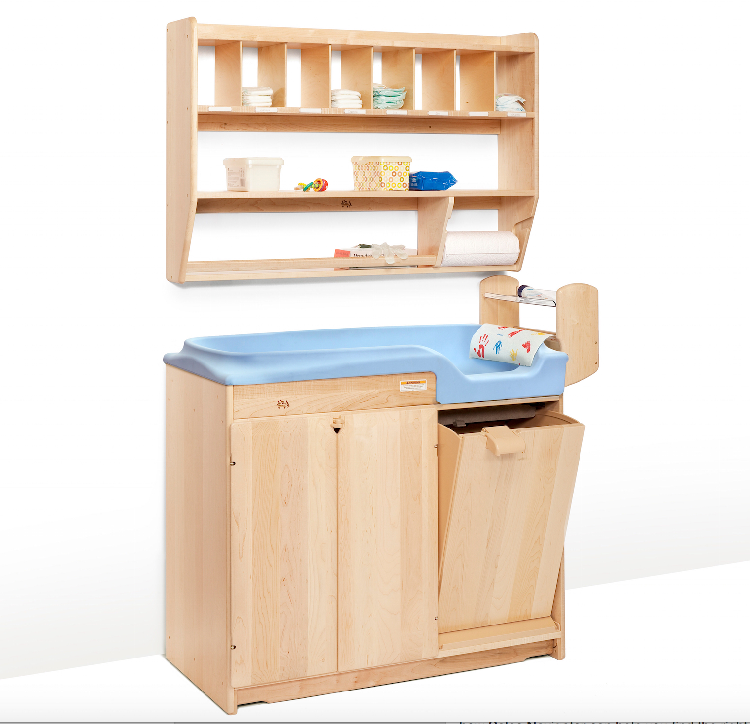 RIM baby changing table