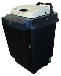 Ballot Box made from injection molding