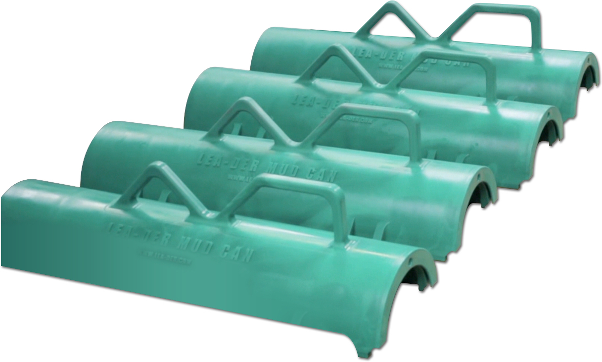 new green reaction injection molding part